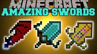 getlinkyoutube.com-Minecraft: AMAZING SWORDS (SWORD ABILITIES, UPGRADES, DEADLY MOBS, & MORE!) Mod Showcase