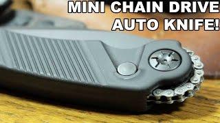 getlinkyoutube.com-Mini Chain Drive Auto Knife! Rat Worx Mini MRX