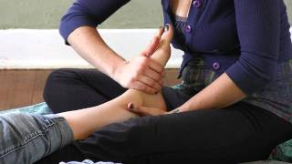 getlinkyoutube.com-Foot Massage How To: Relaxing Pain Relief for Feet | Jen Hilman Massage Therapy Techniques
