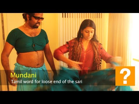 Wilbur Sargunaraj: How to tie the Sari with Nandita Das