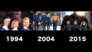 getlinkyoutube.com-Fantastic Four Transformation Movie [1994 - 2004 -2015]