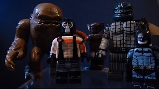 getlinkyoutube.com-Custom Lego Batman Villain Minifigures Part 5 (Bane, Killer Croc, Clayface, and Manbat)