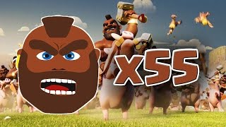 getlinkyoutube.com-DOMATORI POWA (55 livello 5) - Clash of Clans ITA