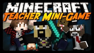 getlinkyoutube.com-Minecraft Mini-Game: TEACHER MASSACRE! w/ AntVenom & Friends!
