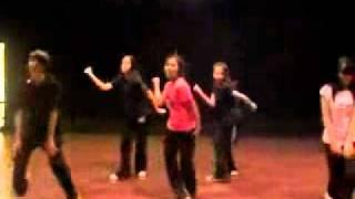 getlinkyoutube.com-[PREDEBUT] f(x) - LA chA TA Dance Practice