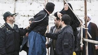 getlinkyoutube.com-Iran Murder Victim's Mother Stops Hanging