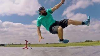 Slip 'N Slide Football Battle | Dude Perfect
