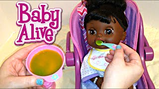 getlinkyoutube.com-Baby Alive Real Surprises Doll Violet Night Routine