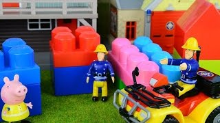 Fireman sam video compilation fire engines fire boats peppa pig animation