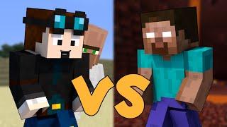 getlinkyoutube.com-TheDiamondMinecart VS Herobrine - Minecraft
