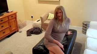 getlinkyoutube.com-HEATHER TRANSVESTITE LACE FRONT WIG AND LACE DRESS