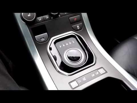 Как снять эвок с паркинга Range Rover Evogue когда он не заводится