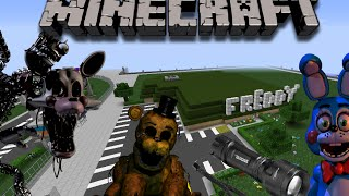 getlinkyoutube.com-Five nights at Freddy's 2 in minecraft | mod & custom made map