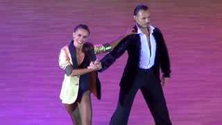getlinkyoutube.com-Slavik Kryklyvyy & Karina Smirnoff Showcase 1 | Kyiv Open 2015 | Славик Крикливый и Карина Смирнова