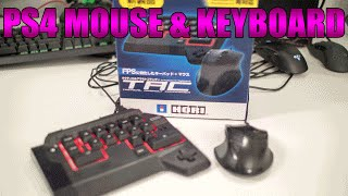 getlinkyoutube.com-PS4 MOUSE & KEYBOARD | HORI TAC4 In-Depth Review