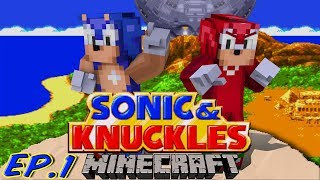 getlinkyoutube.com-Sonic Craft 4 (Sonic & Knuckles) Part 1 w/ KKcomics and Gizzy Gazza!