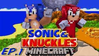 getlinkyoutube.com-Sonic Craft 4 (Sonic & Knuckles) Part 1 w/ KKcomics and Gizzy Gazza!