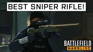getlinkyoutube.com-BFH BEST SNIPER RIFLE! | Battlefield: Hardline - Best Weapon Showcase