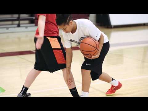 How to Beat Your Defender off the Dribble Basics - High Foot Attacks - Step 4