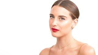 getlinkyoutube.com-Behati Prinsloo Oscars 2015 Makeup Look by Celebrity Makeup Artist Monika Blunder