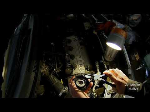 Замена подшипника в ролике натяжителя ремня кондиционера Geely MK