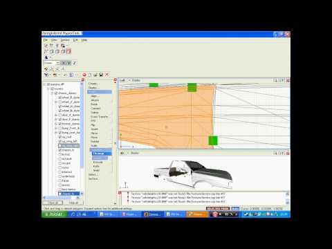 Video Aula de Como fazer 1 quadriculado na lateral do carro By Tiago3D