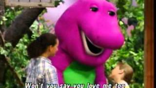 getlinkyoutube.com-Barney I Love You Song [Best Original HQ]