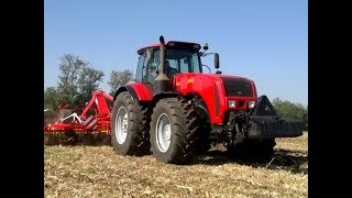 getlinkyoutube.com-BELARUS MTZ 3522.5 TRAKTOR 355 HP CRYSTAL TRADE VIDEO PÖTTINGER MUNKAGÉPEKKEL.mp4