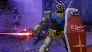 Tutorial Gundam LED on/off beam saber without wire -Gunpla for all-