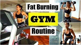 getlinkyoutube.com-My Fat Burning GYM Routine (Treadmill Interval Running)