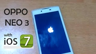 getlinkyoutube.com-Oppo Dengan IOS 7 | Custom ROM