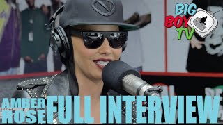 "getlinkyoutube.com-Amber Rose on ""Slut Walk"", FunnyOrDie, Rumors, And More! (Full Interview) 