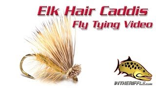getlinkyoutube.com-Elk Hair Caddis Fly Tying Video Instructions and Directions