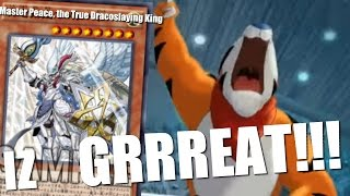 Master Peace, the True Dracoslaying King is GRRREAT!!