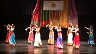 getlinkyoutube.com-Jai Ho Indian Dance