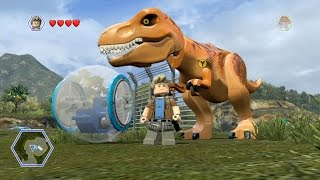 getlinkyoutube.com-LEGO Jurassic World - Isla Nublar 2 - Open World Free Roam Gameplay [HD]