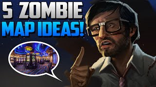 """Call of Duty: Zombies - 5 """"NEW"""" Zombie Map Ideas! (Black Ops 3 Zombie Map Ideas)"""