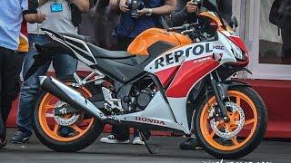 getlinkyoutube.com-Honda new CBR150R 2015 dual keen eyes close view
