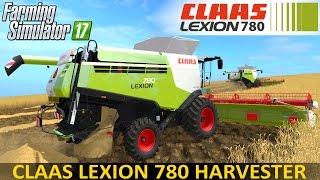 getlinkyoutube.com-Farming Simulator 17 CLAAS LEXION 780 HARVESTER