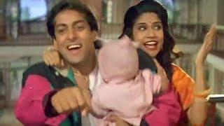 getlinkyoutube.com-Salman Khan, Madhuri Dixit & Renuka Sahane - Premalayam - Dorikenamma