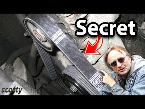 The Secret to Fix a Squeaky Belt in Your Car