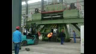 getlinkyoutube.com-8 ton (200kj) CNC forging hammer forge anchor chain for hug vessel