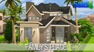 getlinkyoutube.com-The Sims 4 House building - Family's Place - Speed Build