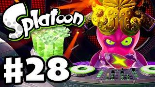 Splatoon - Gameplay Walkthrough Part 28 - Octobot King Boss Fight! (Nintendo Wii U)