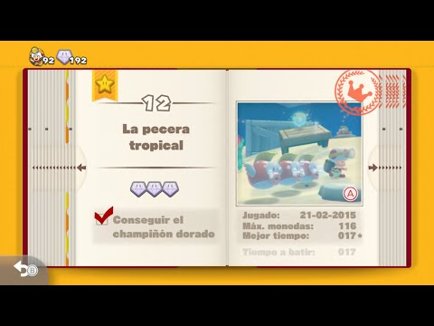 Captain Toad: Treasure Tracker Guía 100% -