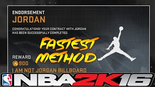 getlinkyoutube.com-NBA 2K16 Fastest Way To Get Jordan Shoe Deal ⋆#NBA2K16⋆