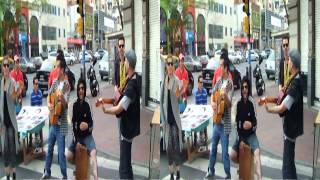 Musica en el Paseo San Telmo 2 Tonimontana. 3D