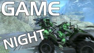 getlinkyoutube.com-Game Night: Halo Reach –Mario Kart Battle
