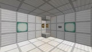getlinkyoutube.com-Minecraft 角設置可能 ピストンエレベーター