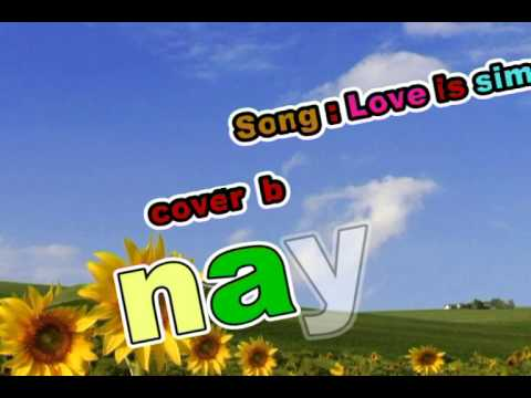 Love is simple david tao cover PIANo by nayt